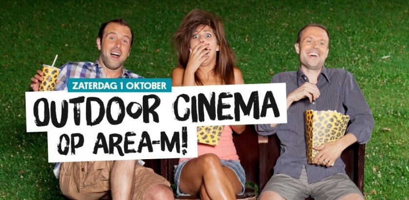 1 oktober: openluchtfilm op Area-M!