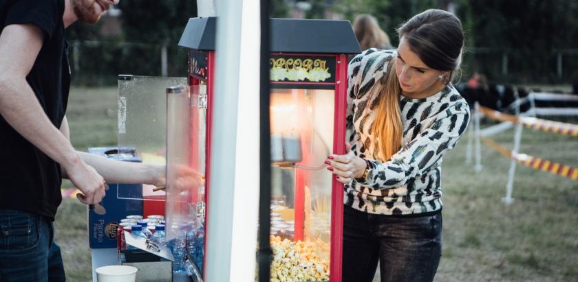 Werk jij mee aan de Outdoor Cinema?