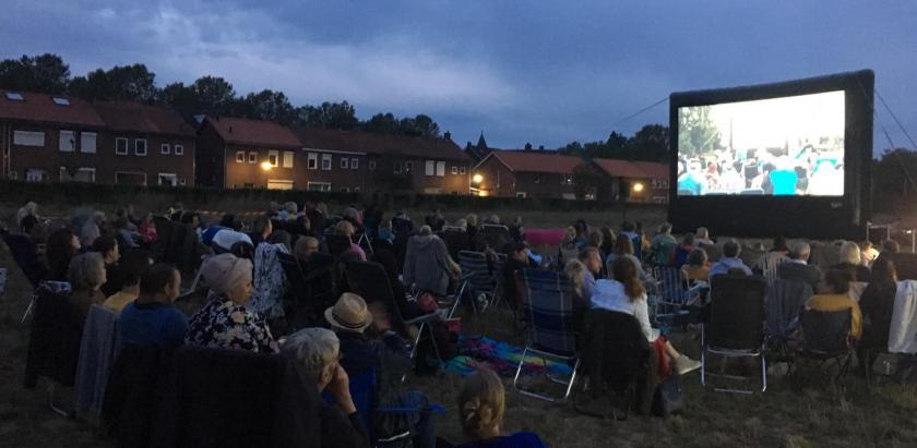De 4e Outdoor Cinema (en de laatste voor de bouw :))